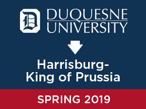 Spring-2019: Duquesne University TO Harrisburg - King of Prussia