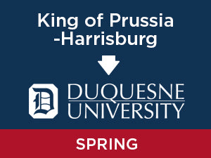 Spring-2020: Duquesne FROM King of Prussia - Harrisburg