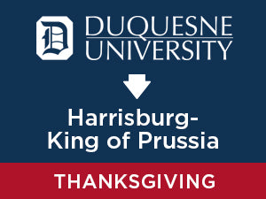 Thanksgiving-2019: Duquesne TO Harrisburg - King of Prussia