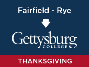 Thanksgiving-2019: Gettysburg FROM Fairfield, CT - Rye, NY