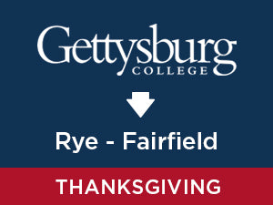 Thanksgiving-2019: Gettysburg TO Rye, NY - Fairfield, CT