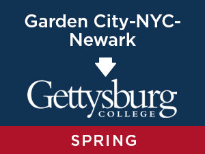 Spring-2020: Gettysburg FROM Garden City - NYC- Newark