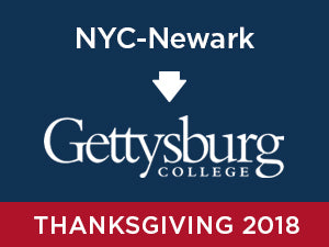 Thanksgiving-2018: Gettysburg FROM NYC - Newark
