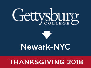 Thanksgiving-2018: Gettysburg TO Newark - NYC