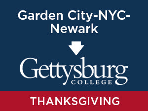 Thanksgiving-2019: Gettysburg FROM Garden City - NYC- Newark