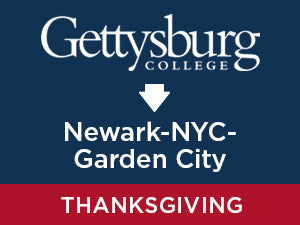 Thanksgiving-2019: Gettysburg TO Newark - NYC - Garden City