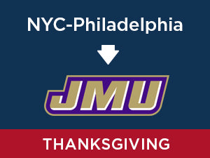 Thanksgiving-2019: James Madison FROM NYC - Philadelphia