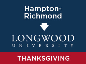 Thanksgiving-2019: Longwood FROM Hampton- Richmond