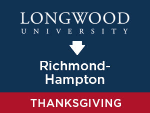 Thanksgiving-2019: Longwood TO Richmond - Hampton