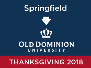 Thanksgiving-2018: Old Dominion University FROM Springfield, VA