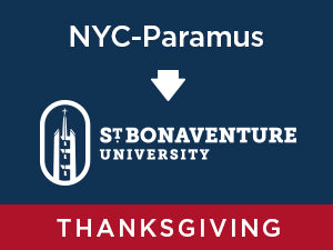 Thanksgiving-2019: St. Bonaventure FROM NYC - Paramus