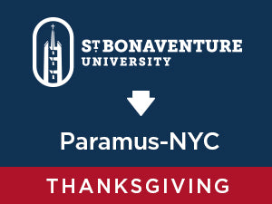 Thanksgiving-2019: St. Bonaventure TO Paramus  NYC