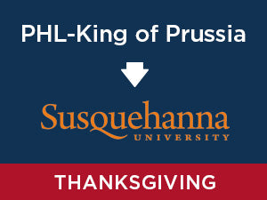 Thanksgiving-2019: Susquehanna FROM PHL Airport - King of Prussia