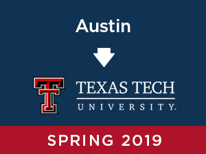 Spring-2019: Texas Tech FROM Austin