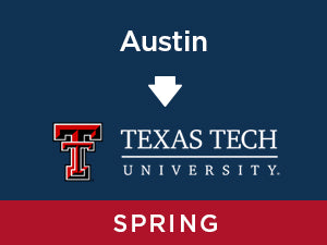 Spring-2020: Texas Tech FROM Austin