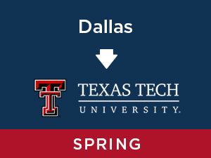 Spring-2020: Texas Tech FROM Dallas