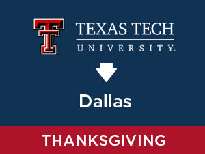 Thanksgiving-2019: Texas Tech TO Dallas