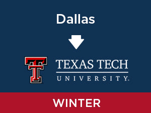 Winter-2020: Texas Tech FROM Dallas