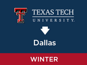 Winter-2019: Texas Tech TO Dallas