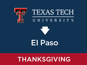 Thanksgiving-2019: Texas Tech TO El Paso