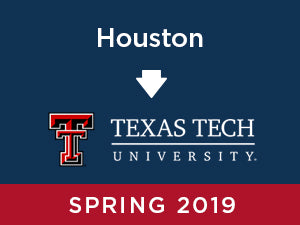 Spring-2019: Texas Tech FROM Houston