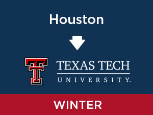 Winter-2020: Texas Tech FROM Houston