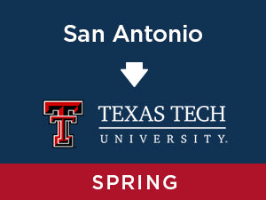 Spring-2020: Texas Tech FROM San Antonio