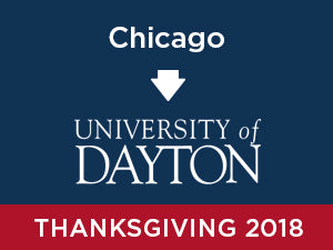 Thanksgiving-2018: University of Dayton FROM Chicago