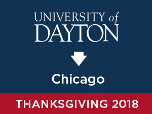 Thanksgiving-2018: University of Dayton TO Chicago