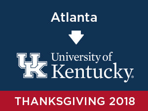Thanksgiving-2018: University of Kentucky FROM Atlanta