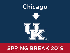 Spring-2019: University of Kentucky FROM Chicago