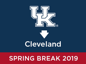 Spring-2019: University of Kentucky TO Cleveland