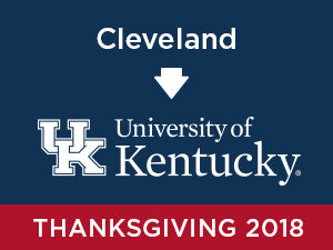 Thanksgiving-2018: University of Kentucky FROM Cleveland