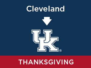 Thanksgiving-2019: Kentucky FROM Cleveland