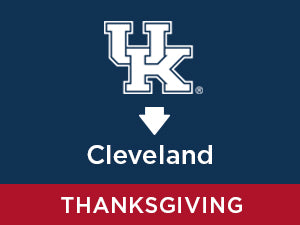 Thanksgiving-2019: Kentucky TO Cleveland