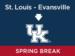 Spring-2020: Kentucky FROM St. Louis