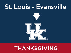 Thanksgiving-2019: Kentucky FROM St. Louis