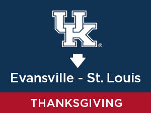 Thanksgiving-2019: Kentucky TO St. Louis