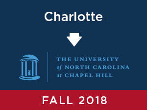 Fall-2018: UNC Chapel Hill FROM Charlotte