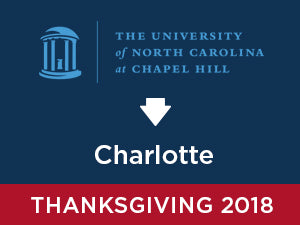 Thanksgiving-2018: UNC Chapel Hill TO Charlotte
