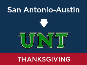 Thanksgiving-2019: North Texas FROM San Antonio-Austin