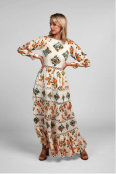 Wynter Maxi Dress Pear Print $399