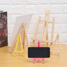 Load image into Gallery viewer, 1/2/3Pcs Craft Easel Mini Artist Wooden Easel