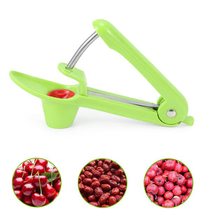 1PC Cherry Pitter Fruit Vegetable Tool Squeeze