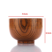 Load image into Gallery viewer, Natural Round Wood Bowls