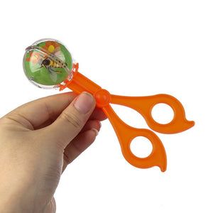 1PC Plastic Insect Bug Catcher Scissors Tongs