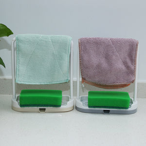Towel and Sponge Drying Rack