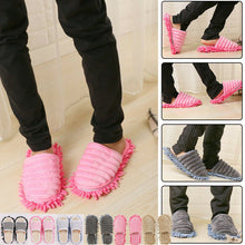 Load image into Gallery viewer, Washable Mop Slippers