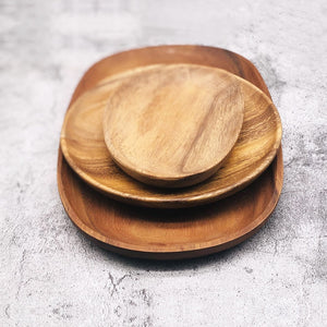 Irregular Wooden Dishes