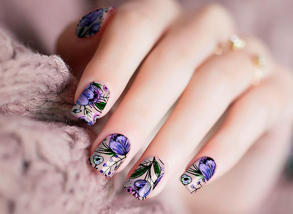 Midnight Forever Nail Wraps